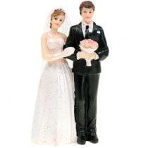 Bridal couple wedding figure 10cm