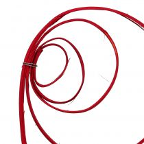 Cane Coil Wine Red 25pcs