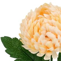 Chrysanthemum peach artificial Ø7cm L18cm