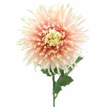 Chrysanthemum flower branch pink artificial 64cm