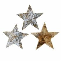 Coconut star washed white 5cm 50pcs