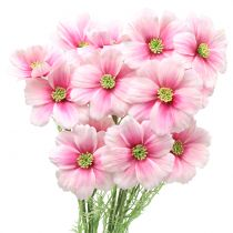 Cosmea artificial pink 77cm 3pcs