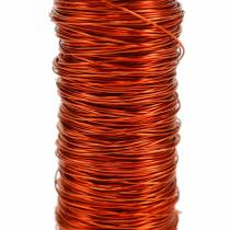 Decorative enamelled wire orange Ø0.30mm 30g / 50m