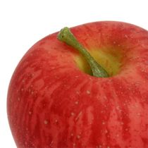 Decorative apple red Realtouch 6cm