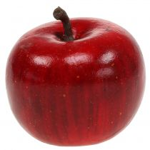 Decorative apple red glossy 4.5cm 12pcs