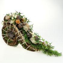 Planter for grave decoration 22cm x 40cm 1pc