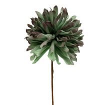 Deco flower branch Foam Green 70cm