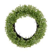 Deco wreath green Ø25cm