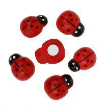Decorative Ladybug for sticking 1.5cm red 360pcs