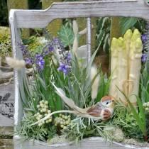 Decorative plant lavender, Mediterranean lavender pot, artificial flower violet