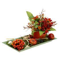 Decorative Tray Green 36cm x 17cm