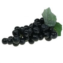 Decorative grapes black 18cm