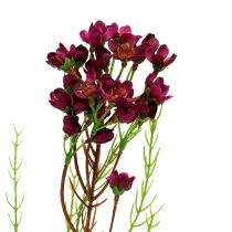 Deco branch with flowers Erika 80cm 3pcs