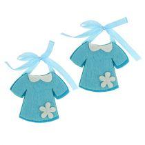 Nursery Felt Dress Blue 7cm 20pcs