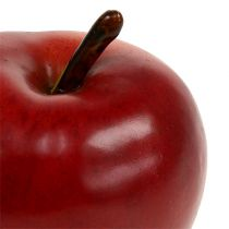 Decorative apple red matt 8cm 1p