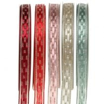 Decorative tape with wire edge 15mm 25m