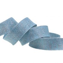Deco ribbon with mica 25mm 20m