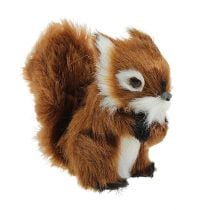 Deco Squirrel Brown 8,5cm