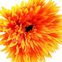Deco Gerbera Orange Ø15cm L88cm