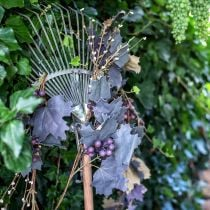 Decorative garland vine leaves and grapes autumn garland 180cm
