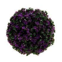 Deco ball Purple from flowers Ø18cm 1pc
