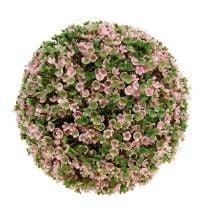 Decorative ball pink-green Ø20cm