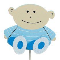 Deco plug Baby Blue 5cm L25cm 20pcs