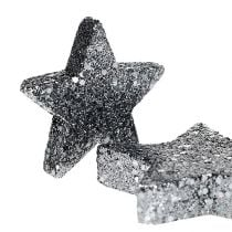 Decoration stars for spreading 4-5cm Black 40pcs