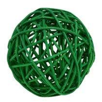 Decorative balls sort. green 7cm 18pcs