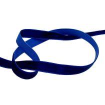 Deco ribbons Velvet Blue 10mm 20m