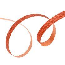 Deco ribbon with mica copper 5mm 150m