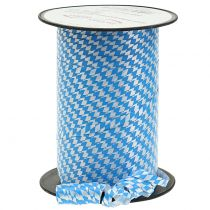 Deco Tape Polyband Blue-White 5mm 250m