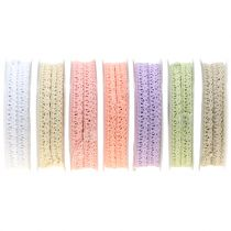 Gift ribbon for decoration Crochet lace 12mm 20m