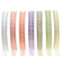 Gift ribbon for decoration lace 16mm 20m