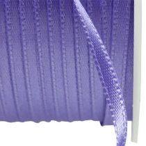 Gift and decoration ribbon 3mm x 50m purple