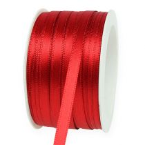 Gift and decoration ribbon 6mm x 50m light red