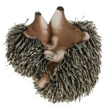 Deco hedgehog with child 11,5cm 2pcs