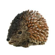 Dekofigur hedgehog brown 6,5cm