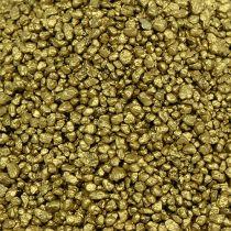 Decorative granulate yellow gold 2mm - 3mm 2kg