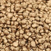 Decorative granulate gold decorative gravel 2-3mm 2kg