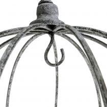 Decorative crown for hanging Ø33.5cm H31.5cm