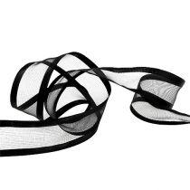 Decoration band black 40mm 25m