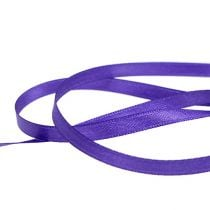 Gift and decoration ribbon 6mm x 50m purple