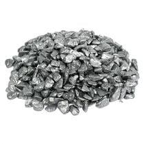 Decorative stones 9mm - 13mm 2kg silver
