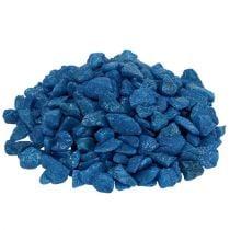 Decorative stones 9mm - 13mm dark blue 2kg