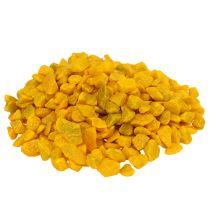 Decorative stones 9mm - 13mm yellow 2kg