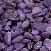 Decorative stones aubergine 9mm - 13mm 2kg