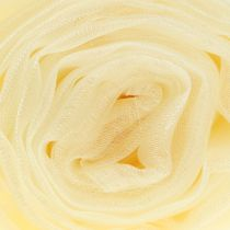 Decoration fabric organza cream 150cm x 300cm