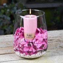 Decorative vase, flower vase, glass vase Ø19cm H23cm