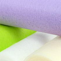 Deco fleece table runner 23cm colored 25m